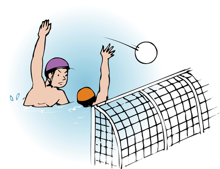 water polo: Water polo Stock Photo