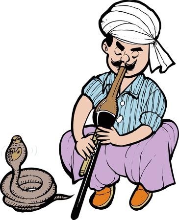 errand: Errand snake Stock Photo