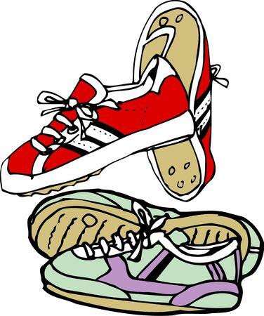 tennis shoe: Tennis shoes