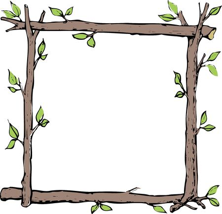 boughs: Title frame of the tree