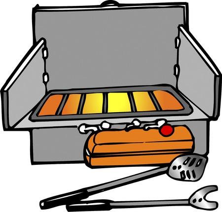 barbecue stove: Barbecue stove