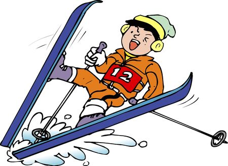 스키 가을