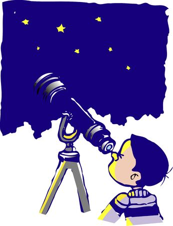 observations: Astronomical observations Stock Photo