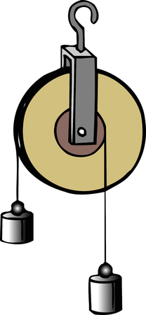 pulley: Pulley Stock Photo