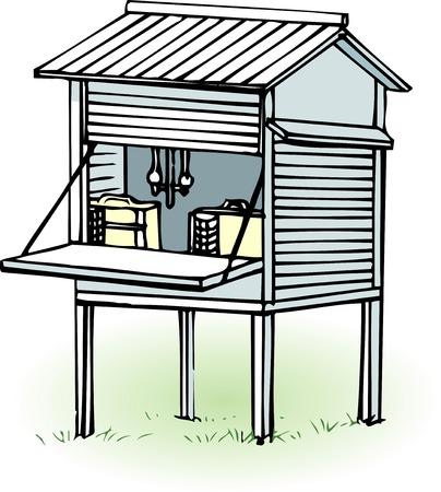 shelter: Instrument shelter