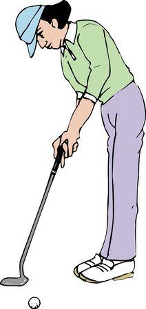 ゴルフ 写真素材 - 39919124