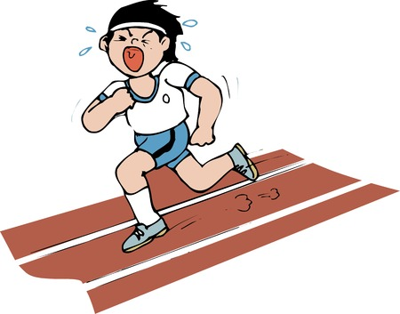 sprint: 50 m sprint.