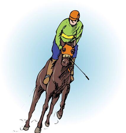 horse racing: Horse racing Stock Photo