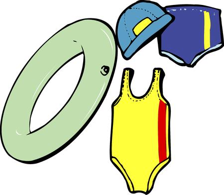 equipment: Swimming equipment