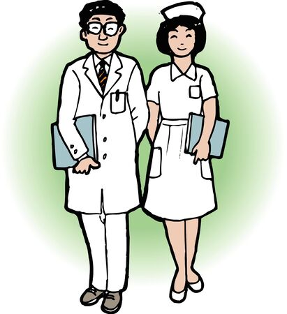 healthcare workers: Doctors and nurses