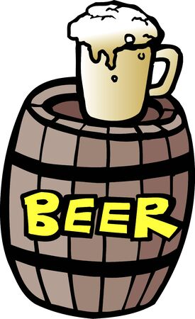 keg: Beer keg Stock Photo