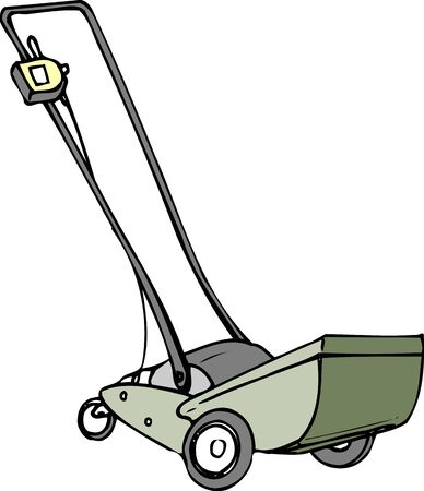 mower: Electric lawn mower