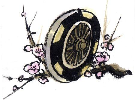 plum: Plum and wheels