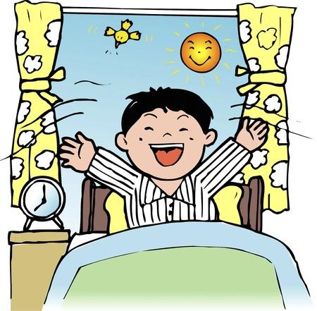classwork: Wakeup Stock Photo