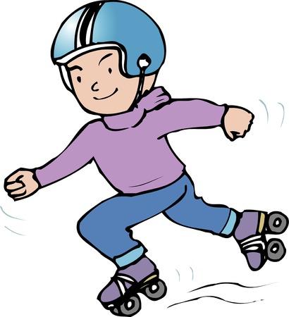 roller: Roller skating