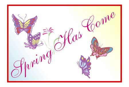 spring message: Spring message