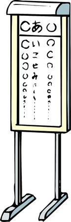 prueba de vision: Prueba de la visión