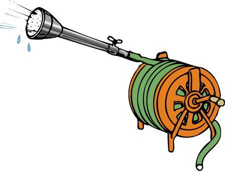 watering hose: Watering hose