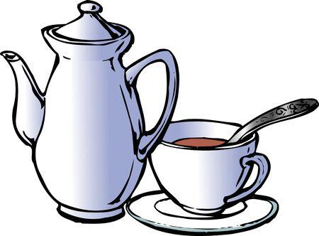 facilities: Tea making facilities Stock Photo
