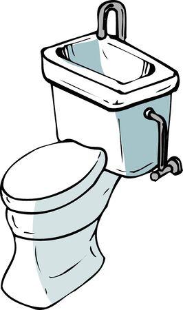 flush toilet: Flush toilet