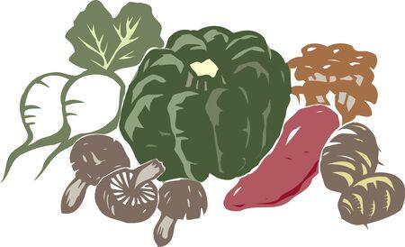 fruit and vegetable: Vegetables