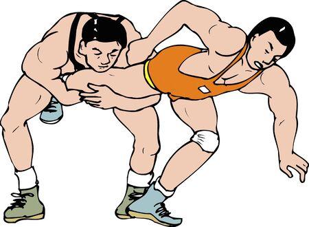 tackle: One leg tackle