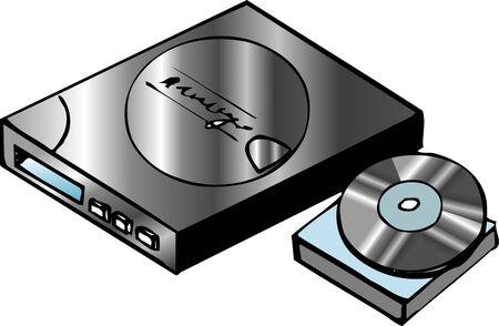 cd player: CD player Stock Photo