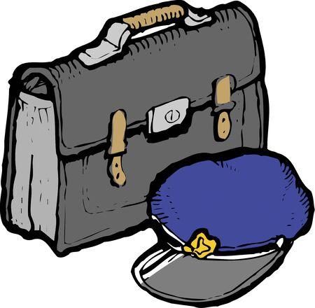 schoolbag: Schoolbag Stock Photo