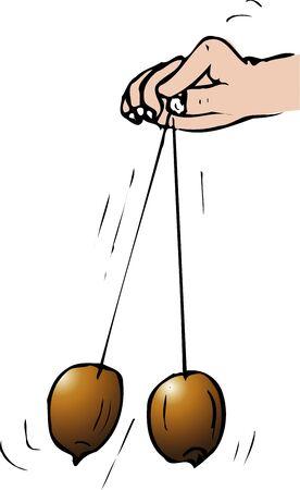 Acorn pendulum