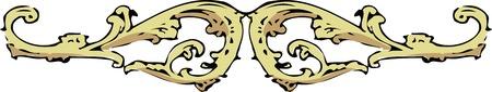 ウエスタン アラベスク装飾品