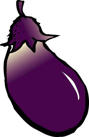 provisions: Eggplant Stock Photo