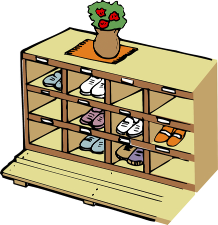 shoe box: Shoe box