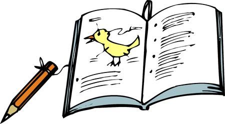 Bird observation notebook