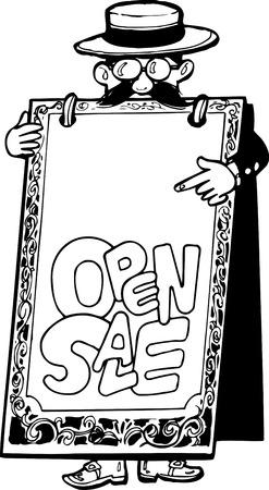 open sandwich: OPEN SALE Stock Photo