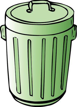 necessities: Garbage container