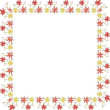 メープルの正方形装飾フレーム