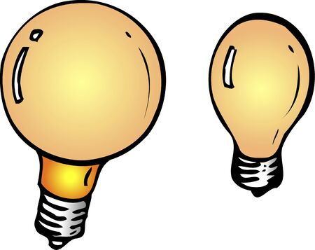 incandescent: Incandescent light bulb