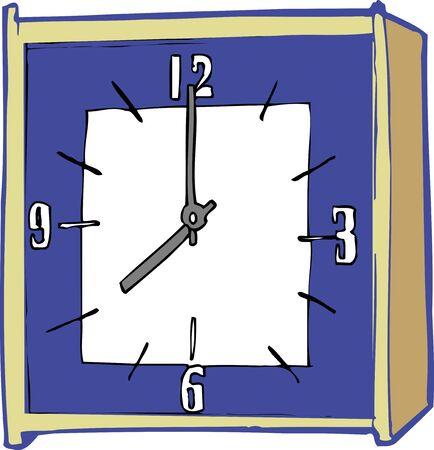wall clock: Wall clock Stock Photo