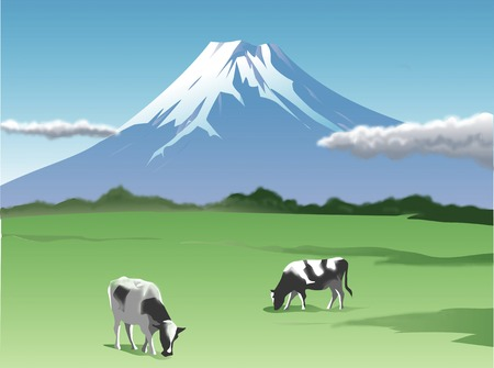 pasturage: Fuji ranch