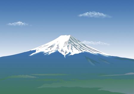 world heritage: Spring Fuji