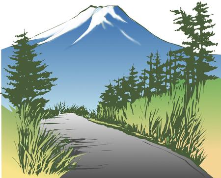 world heritage: Fuji Subaru Line