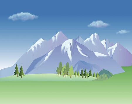 fall scenery: Alpine