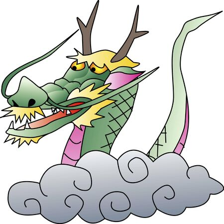 dragon: Clouds dragon