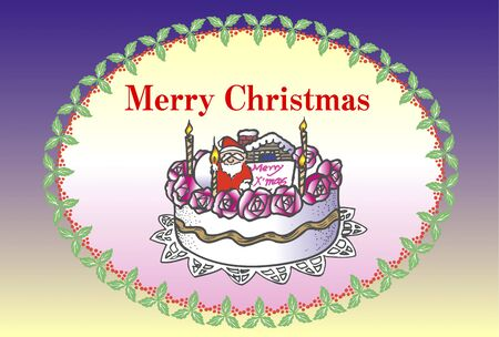 annual events: Christmas message Stock Photo