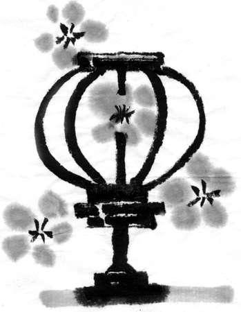 paper lantern: Paper Lantern Stock Photo