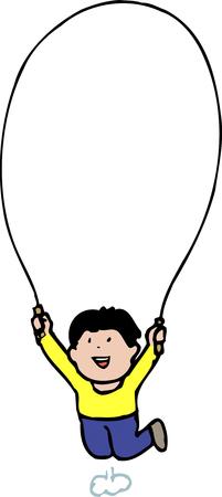 saltar la cuerda: Marco de la cuerda de salto