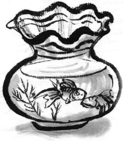 fishbowl: Goldfish