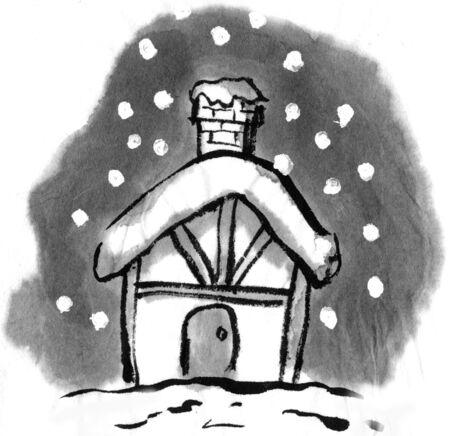 habitation: Christmas eve Stock Photo