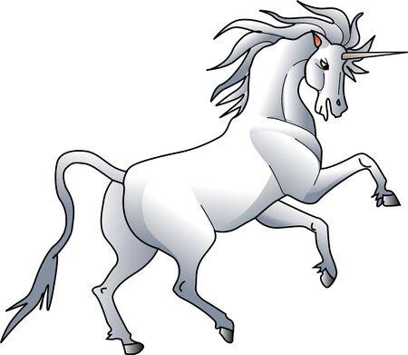 royal family: Unicorn Stock Photo