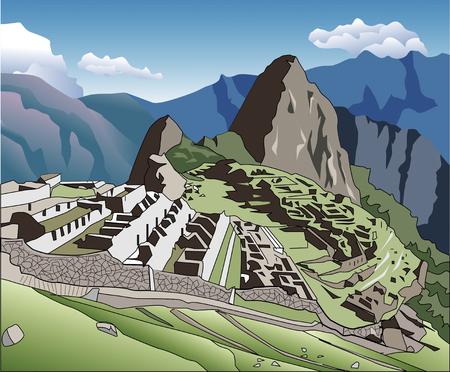 machu picchu: Machu Picchu